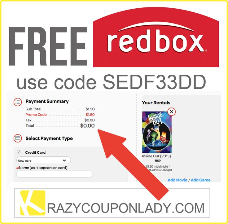 Use the Redbox code on checkout to receive discounts on your DVD rental. Redbox is in the DVD, Bluray and video games rental business. It offers a wide selection of games and movies including drama, action, comedy and horror through its bright red kiosks. Redbox was also ranked the fifth largest DVD rental store by EMA in