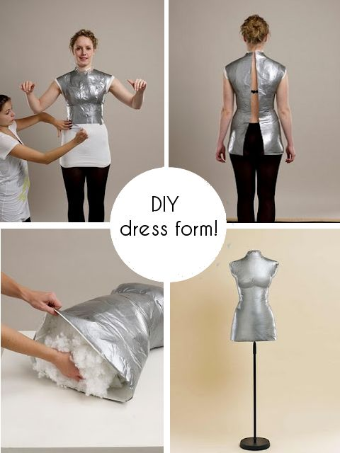 DIY dress form.....must do!!