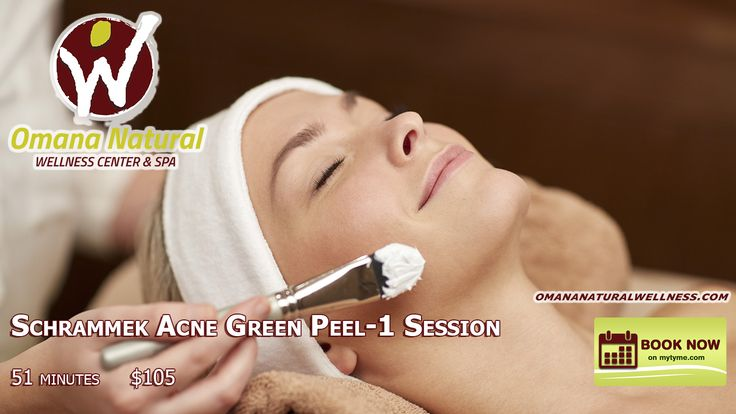 Schrammek Acne Green Peel-1 Session https://goo.gl/XElwMf