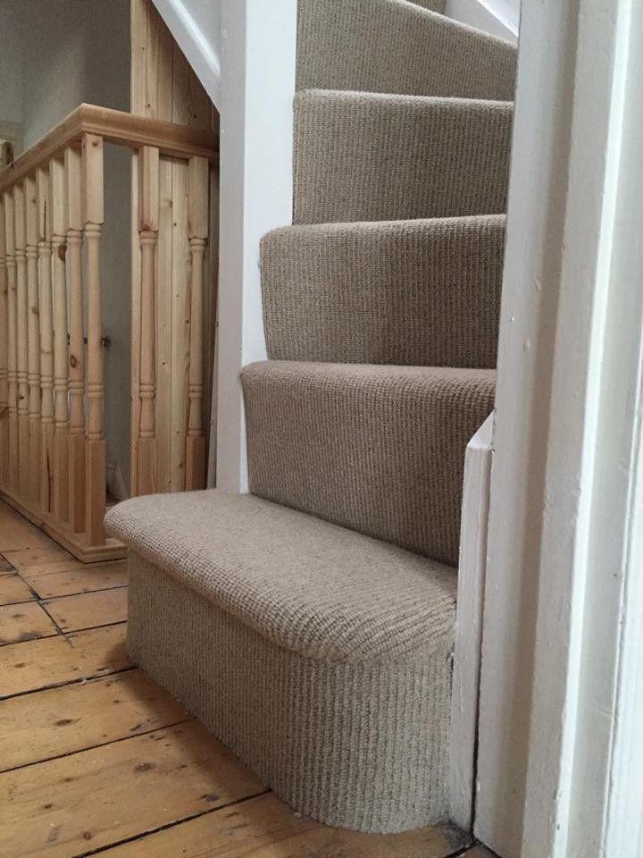 A beige carpet, by Kingsmead Carpets, fitted by Bristol Flooring Ltd.