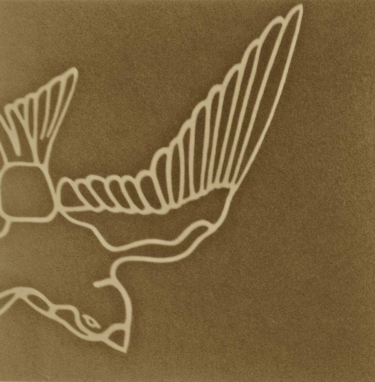 A Bird by Finnish artist Osmo Rauhala (detail).
