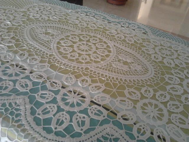 Pinterest the world s catalog of ideas - Mantel de crochet ...
