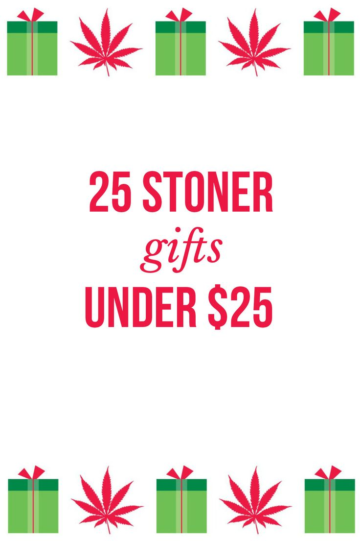 Don't know what to get a cannabis lover for Christmas? Here are 25 stoner gifts for under $25 | blog.massroots.com