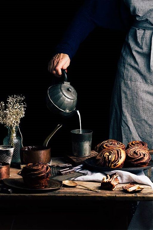 ... chocolate brioche ...