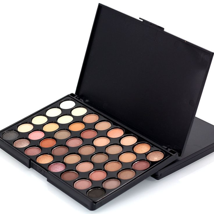40 Color Matte Eyeshadow Pallete Make Up Palette Eye Shadow Glitter Natural Easy to Wear Waterproof Lasting Makeup Pallete
