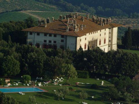 """Villa Medicea La Ferdinanda Built in 1594 by Ferdinando I de' Medici, """"La Ferdinanda"""" is the perfect location for events."""