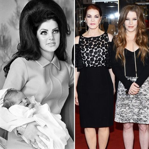 Priscilla Presley Steps Out With Lookalike Daughter Lisa Marie Presley — Plus 8 More Famous Mother-Daughter Duos Then and Now!
