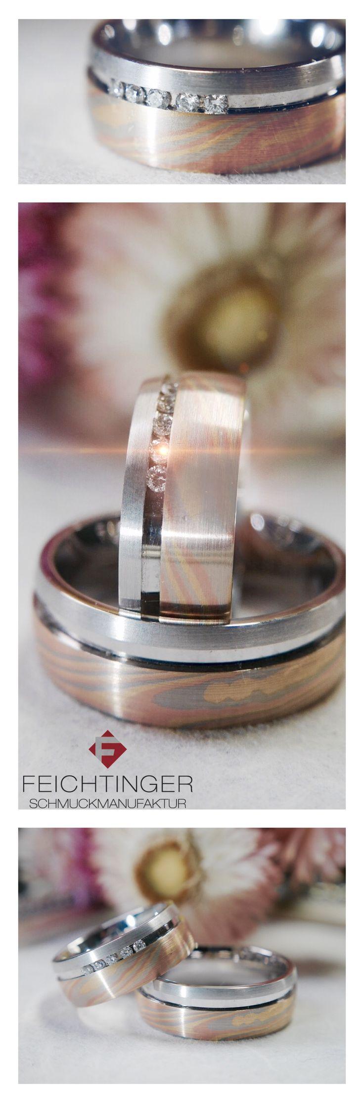 ❤Die Liebe hat viele Farben!❤ ❤Eheringset, Gold 585, Tricolor, Brillant: http://www.feichtinger.biz/Eheringe/Eheringset-oxid-119.html  #schmuck #feichtinger #feichtingerschmuck #schmuckhandelfeichtinger #ehering #eheringe #hochzeit #hochzeitsschmuck #verlobungsringe #trauringe #madeinaustria #liebe #jewellery #wedding #ring #love #gold #weddingring #weddingrings #memoirering