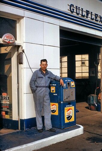 The local gas station mechanic who knew everything about the family cars and how to keep them running in the 50s