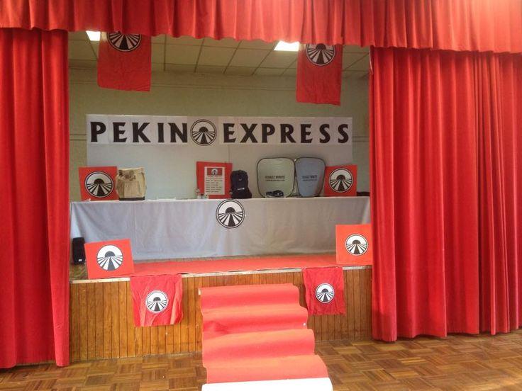 Grand jeu / Veillée - Pékin Express : Dans notre centre de loisirs nous avons réalisé le grand jeu Pékin Express, tiré de l'émission de M6, sous la forme d'une veillée parents/enfants.