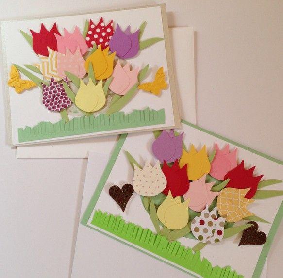 お花畑をイメージして、ひとつひとつチューリップを作りました。ブランクカードなので、お誕生日や特別な日のプレゼントにメッセージを添えて、お使い下さい。ペーパーは...|ハンドメイド、手作り、手仕事品の通販・販売・購入ならCreema。