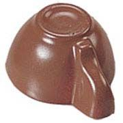 Polycarbonate Chocolate Mold Cup 26mm x 15mm High, 32 Cavities