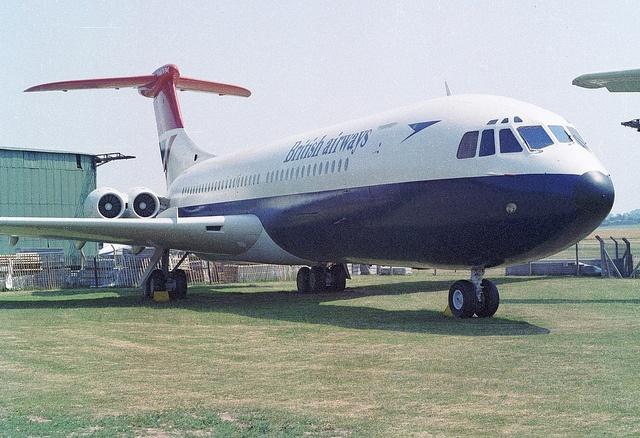 Vickers VC10 Srs1101 G-ARVM British Airways, RAF Museum Cosford, 1983. by ATom.UK, via Flickr