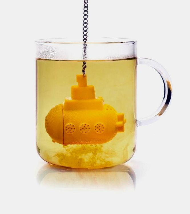 Yellow Submarine Tea Diffuser - Fun Tea Infuser | WOCOLATE