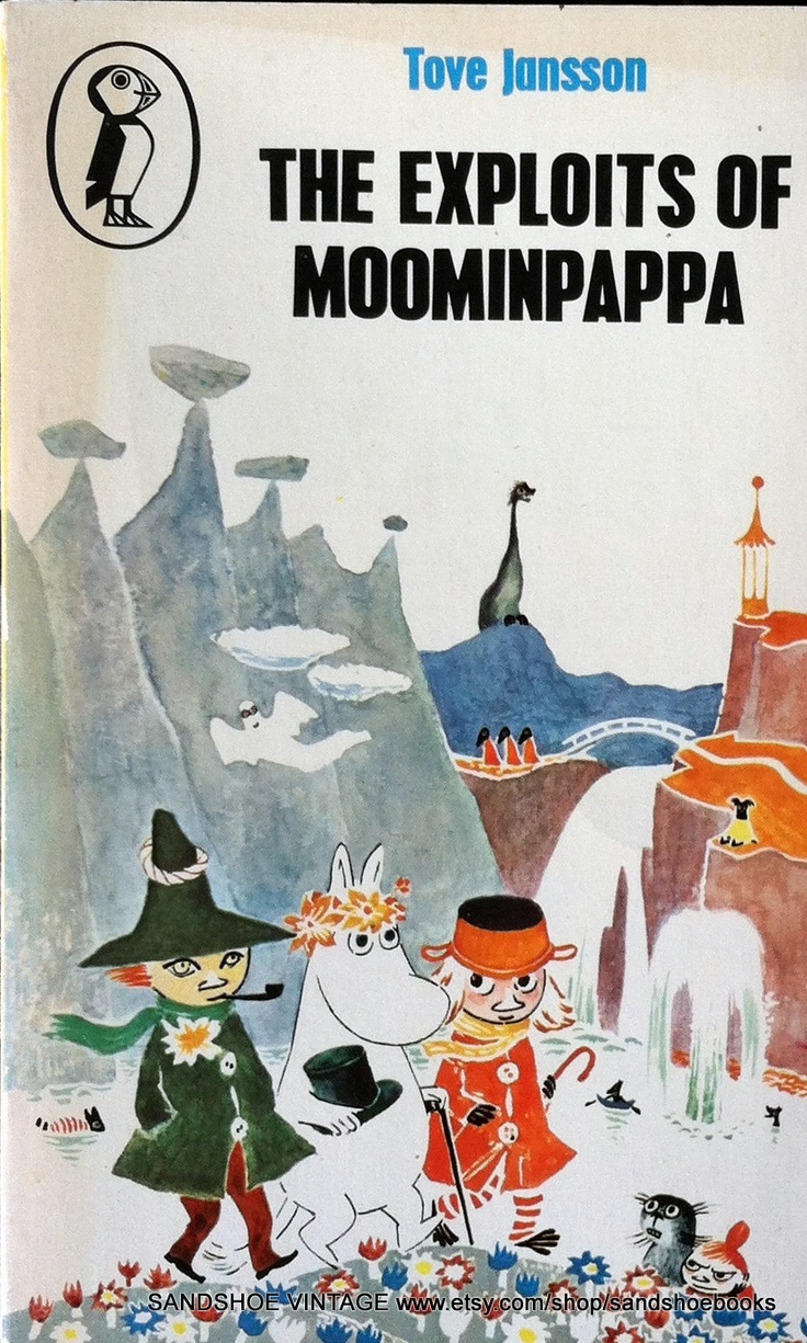 1980 The Exploits of MOOMINPAPPA by Tove JANSSON MOOMIN Book. $6.00, via Etsy.