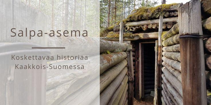 Salpa-asema on pysähdyttävä paikka Kaakkois-Suomessa. Tältä Salpalinja näyttää Luumäen kohdalla. Luumäki, Suomi. Matkablogi Suunnaton.