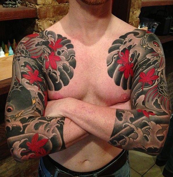 """fuckyeahirezumi: """"Tattoo by Rodrigo Melo of Northstar Tattoo NYC """""""