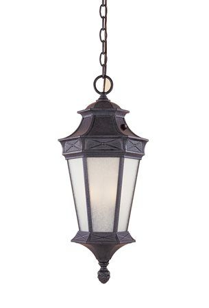 Designers Fountain ES20824-RST Grand Court Energy Efficient Traditional Outdoor Hanging Light DF-ES20824-RST  $80