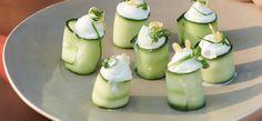 Canapé di zucchine