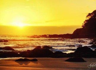 camboriú entardecer   Sol nascendo na Praia Brava/Praia dos Amores