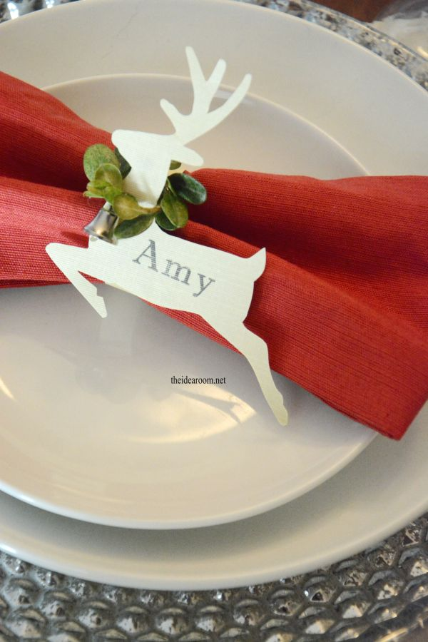 Best 25 Christmas Place Cards Ideas On Pinterest DIY