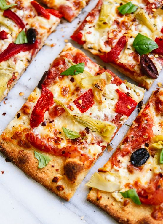 ... Pizza | Recipe | Greek Pizza, Roasted Red Peppers and Red Peppers