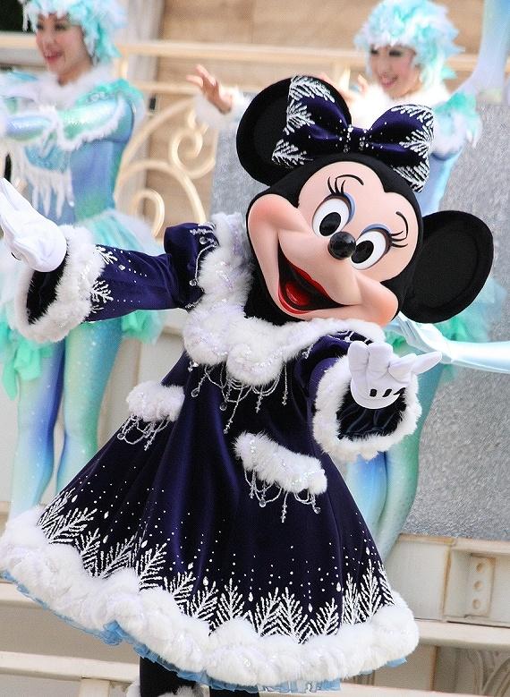 Minnie in winter dress