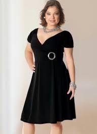 Resultado de imagen de vestidos sencillos favorecedores para gorditas