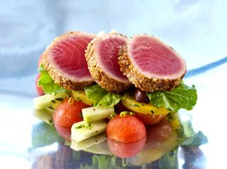 Africa's Top 5 Golf Destinations - gourmet food at Zimbali #gourmet #food #foodie #gourmetfood