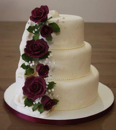 Wedding Cake from Bostin Bakes.
