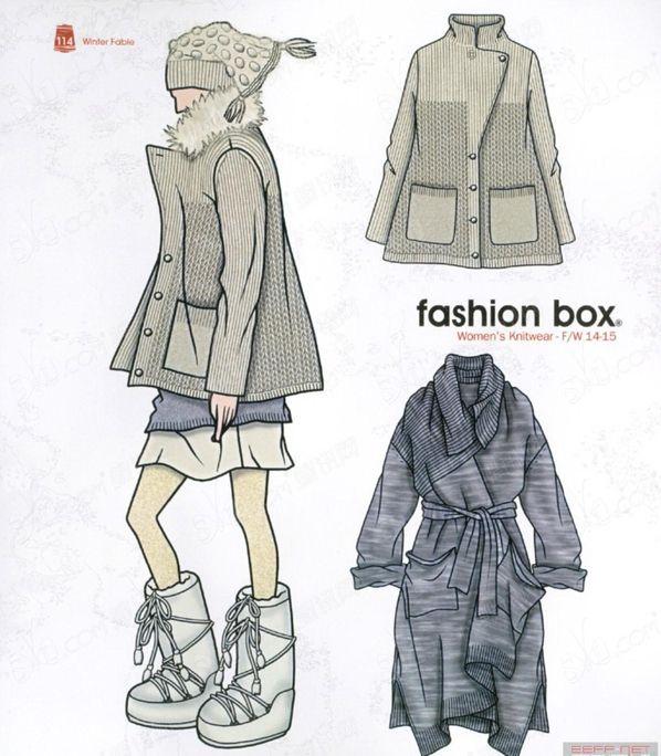 Модные тенденции 2014 2015 в вязаных и трикотажных вещах