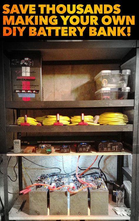 3935 best Solar Battery Bank images on Pinterest