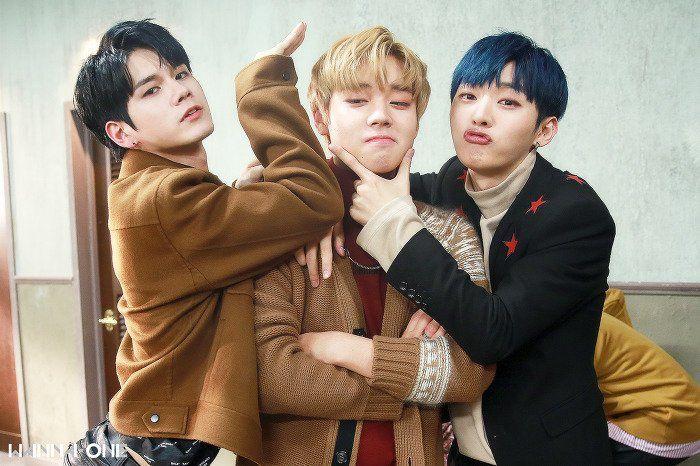 Wanna-One - Seongwoo, Jihoon, Jisung