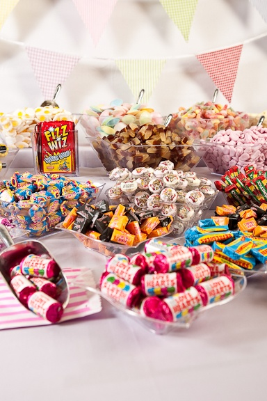 Keep your guests sweet with a table of sweet selections