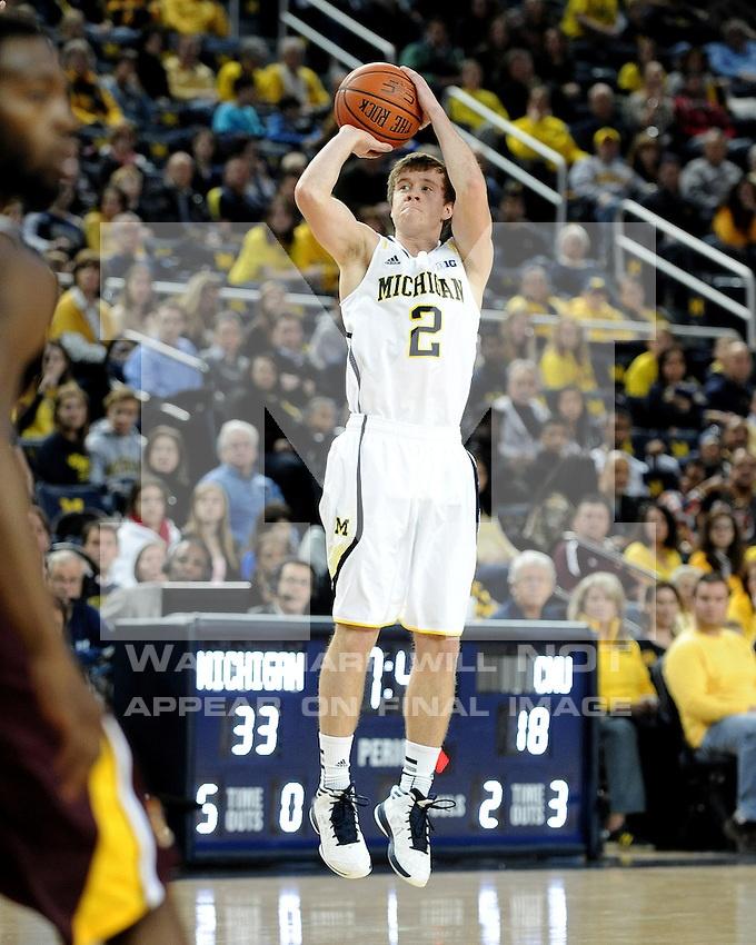 The University of Michigan men's basketball team