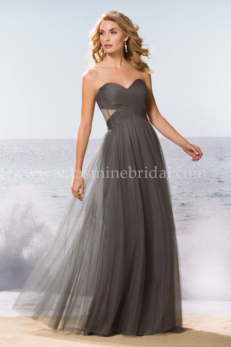57 best fall 2015 bridesmaids images on pinterest jasmine bridal jasmine bridal bridesmaid dress belsoie style l174062 in iron simple sexy and ombrellifo Image collections