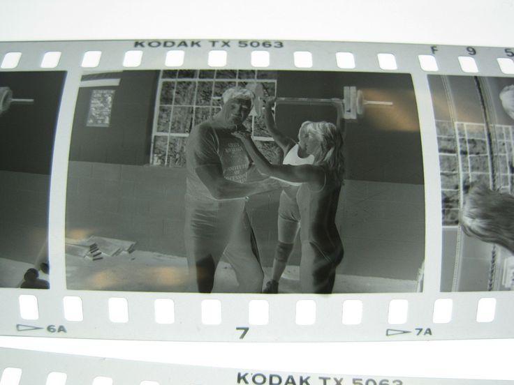 Vintage #C Photo Negatives WWWF Wrestler Killer Kowalski at his Wrestling Camp
