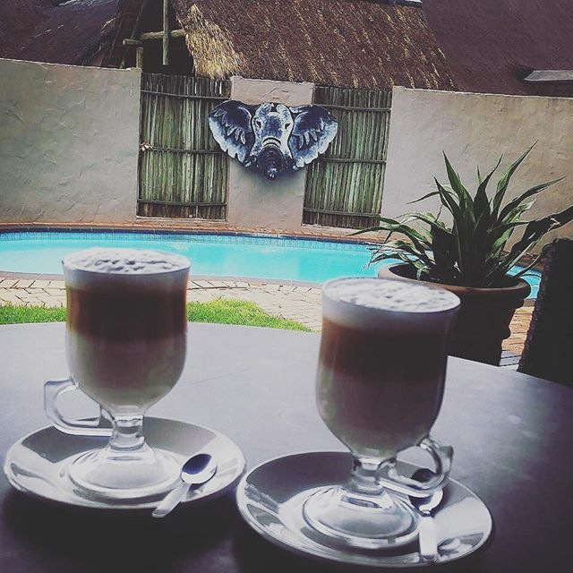 The perfect way to start a day of Spa treats at Askari Spa.  Thanks for sharing this great pic @annelie02051986