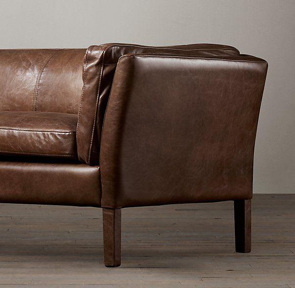 5' Sorensen Leather Sofa