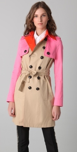 DSQUARED2 Menage A Trois Trench Coat - StyleSays