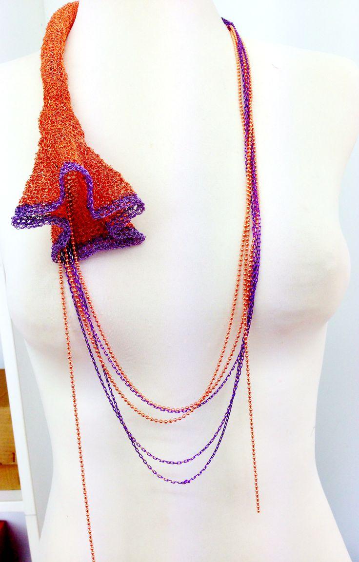 necklace by Maria Mantzorou