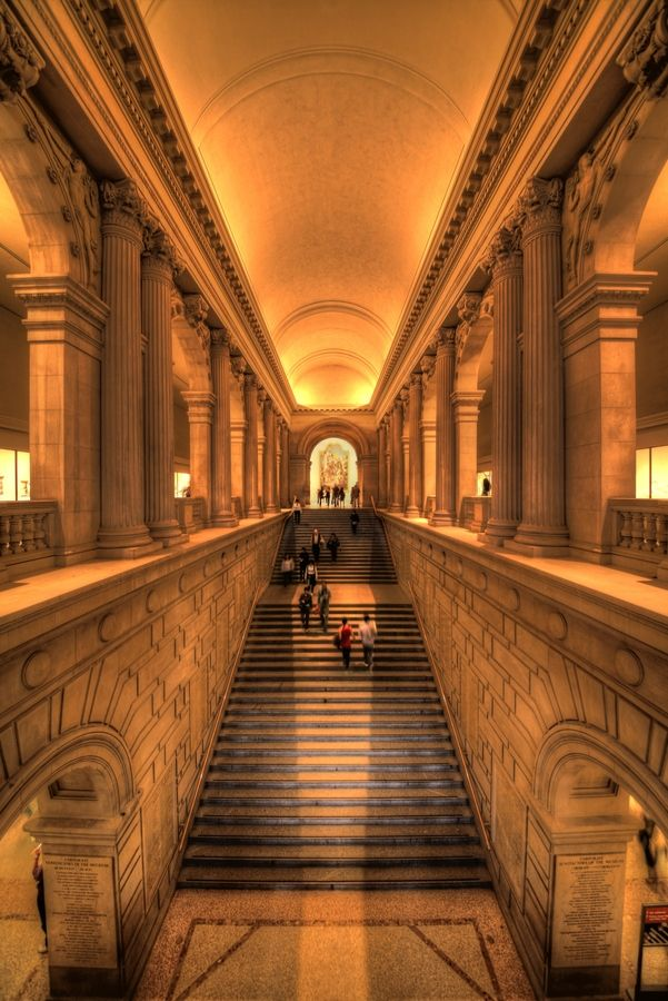 Best 25 met art galleries ideas on pinterest picture for Grand staircase design