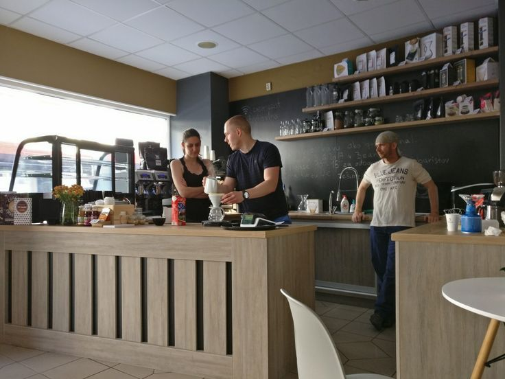 Káva event at Bean Spot Specialty Coffee Shop in Bratislava