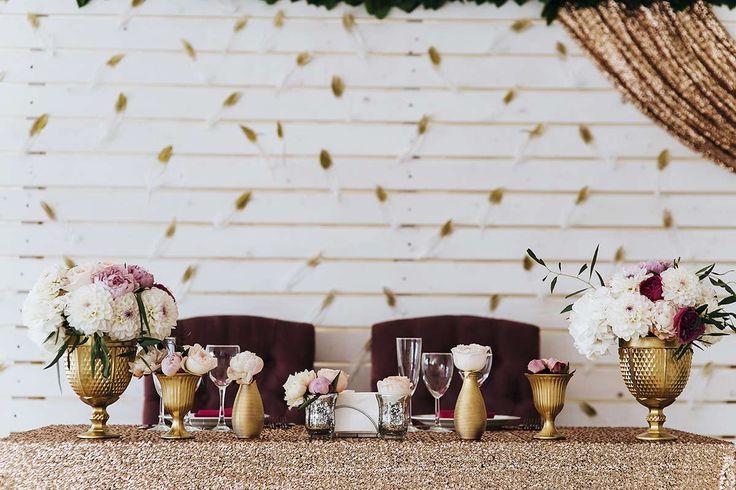 """Украшение зала на свадьбу : стиль """"Шебби Шик"""" фото : 173 идей 2017 года на Невеста.info"""