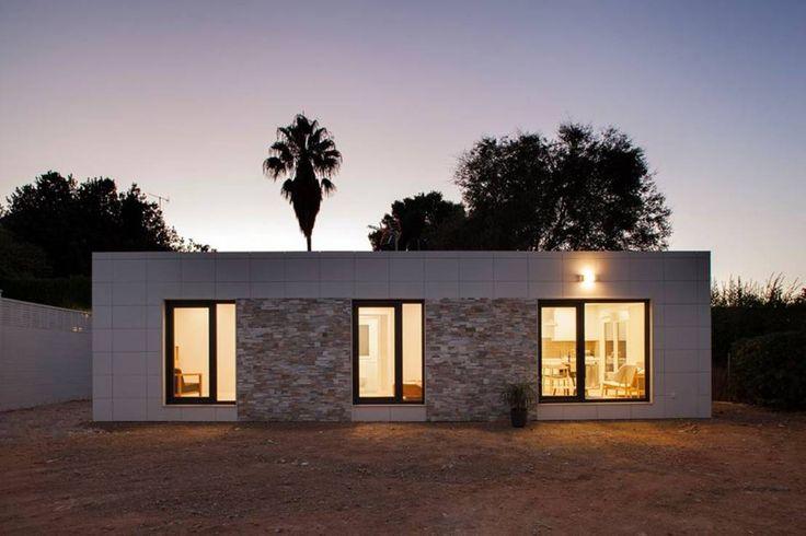 Dieses Haus zeigt, dass man auch auf wenigen Quadratmetern…