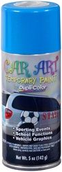 Dupli-Color® Car Art™ CA400 - Temporary Paint | O'Reilly Auto Parts. This will open up some many possibilities in decorating the Miata for the clubs annual Halloween run.  Other members have used it with success.
