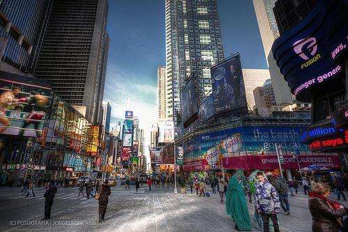 Colores de Time Square la otra jungla (HDR) - Manhattan (NY- USA)