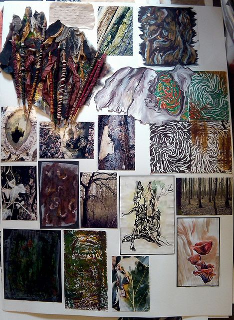 Textiles Sketchbook Ideas