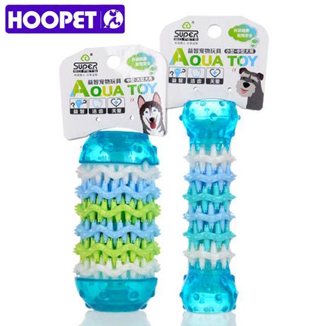 Hoopet игрушки собаки зубы игрушка плюшевый щенков средний большой собаки интерактивные любимчик продукта резины