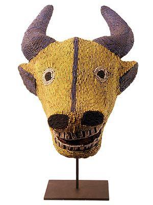 Bamileke Buffalo Mask 1 Cameroon Animal MasksAfrican